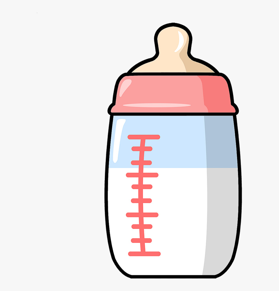 Bottles Infant Transprent Png Free - Baby Bottle Clipart, Transparent Clipart