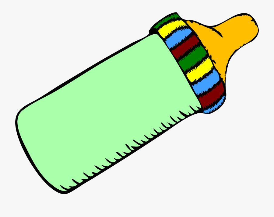 Baby Bottles Infant Pacifier Clip Art - Baby Bottle Clip Art, Transparent Clipart