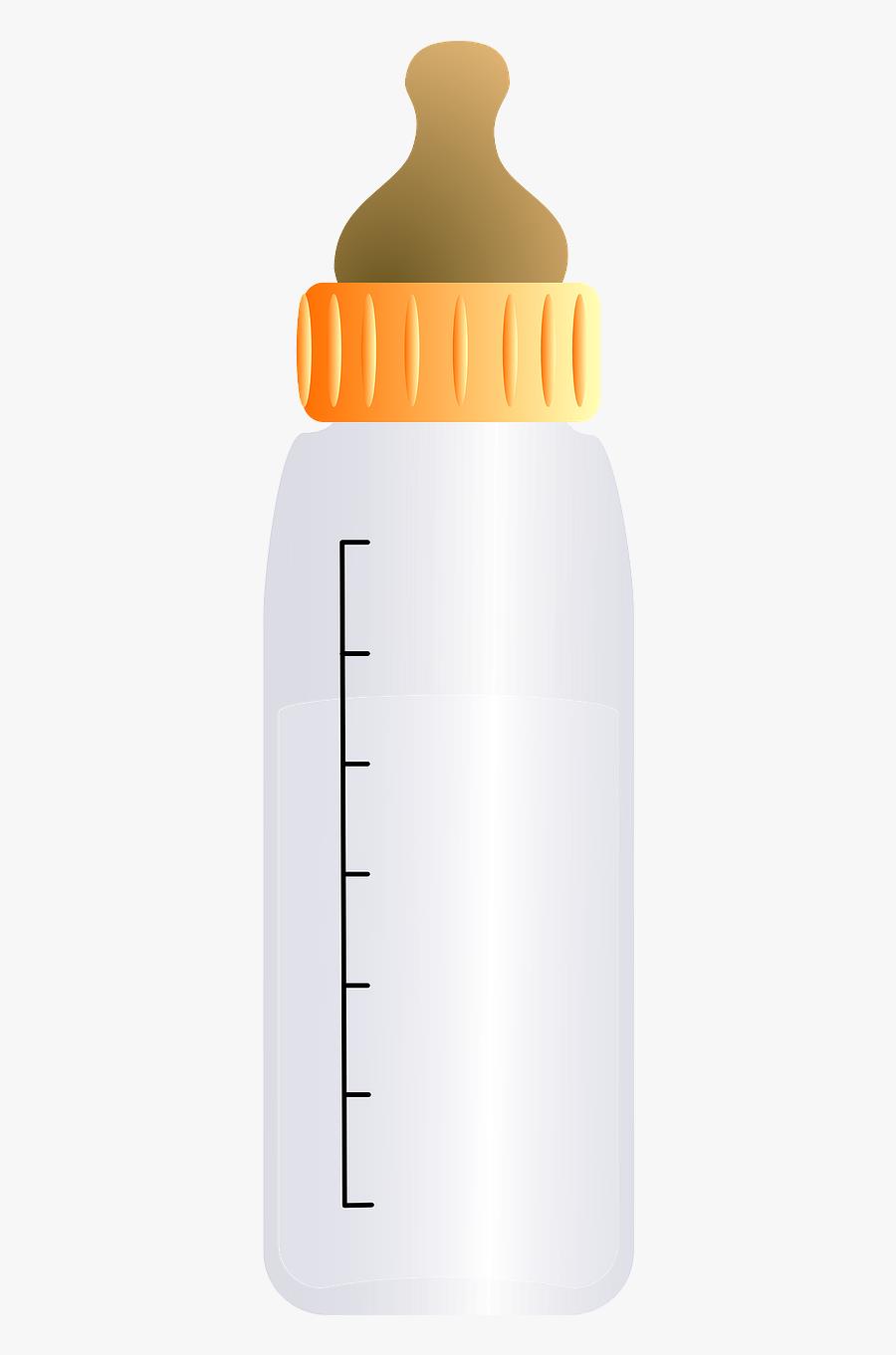 Free To Use & Public Domain Baby Bottle Clip Art - Baby Bottle, Transparent Clipart