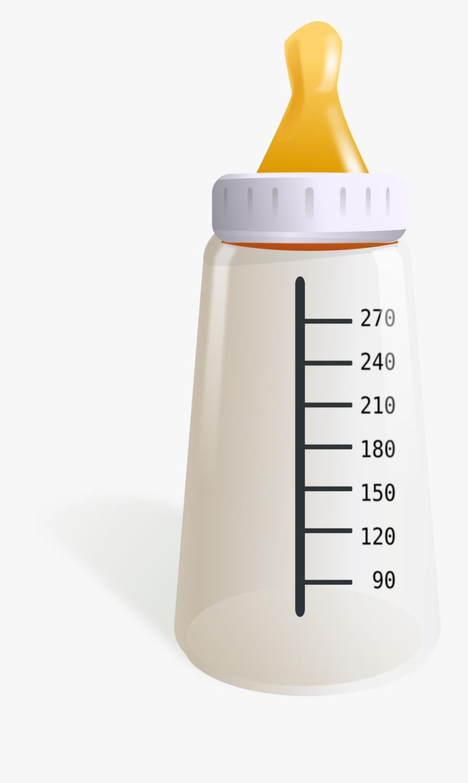 Baby Bottle - Baby Formula Bottle Lid, Transparent Clipart