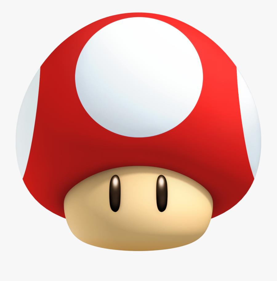 Mushroom Clipart Super Mario - Super Mario Mushroom Transparent, Transparent Clipart