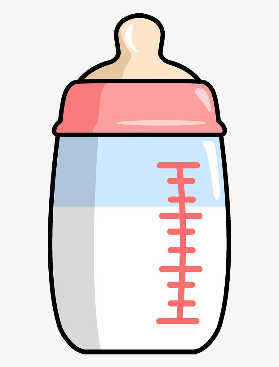 Transparent Baby Bottle Clipart Cartoon Baby Milk Bottle Drawing Free Transparent Clipart Clipartkey