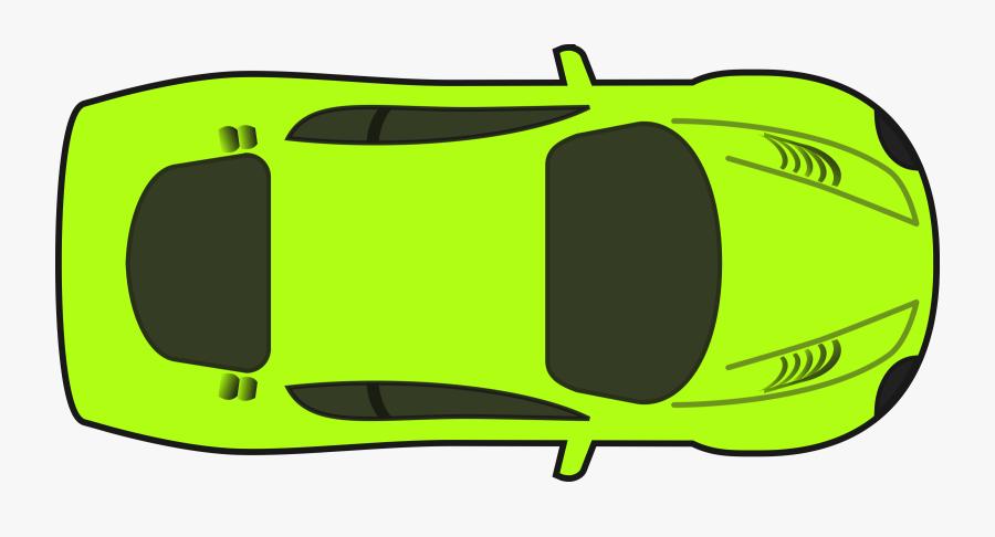 Race Car Racing Cars Clip Art - Race Car Top Down Clipart, Transparent Clipart