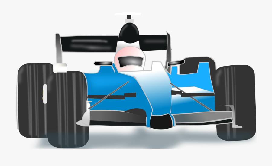 Transparent Blue Car Png - Blue Race Car Clipart, Transparent Clipart