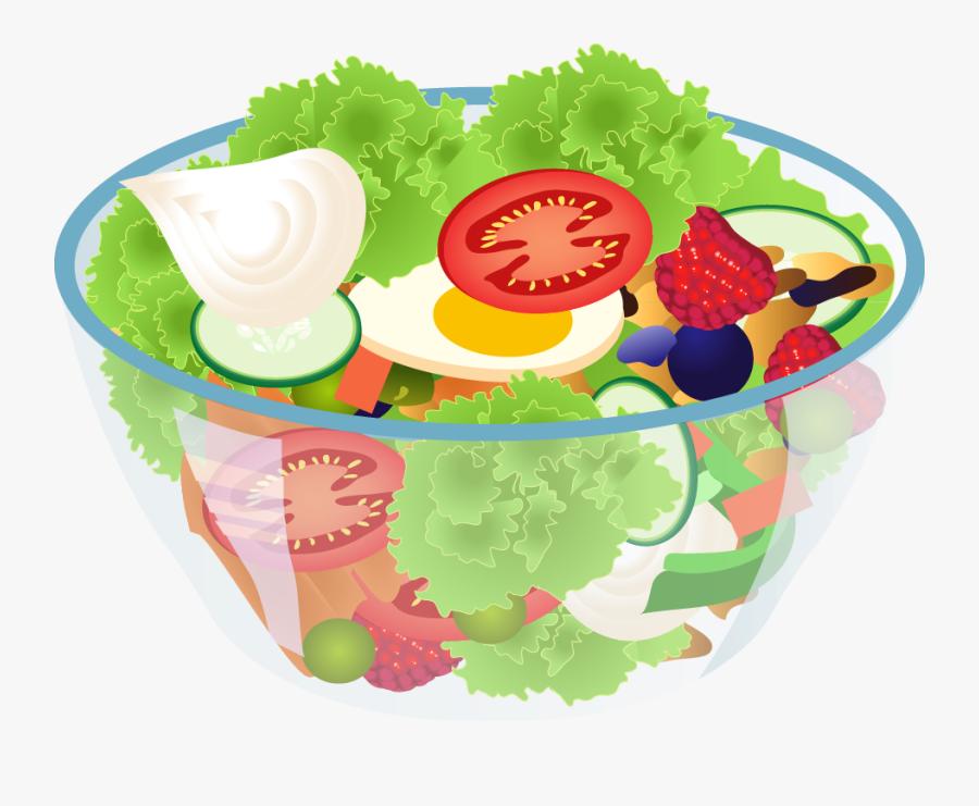 Salad Clipart Vegetable Clip Art - Salad Clipart Png, Transparent Clipart