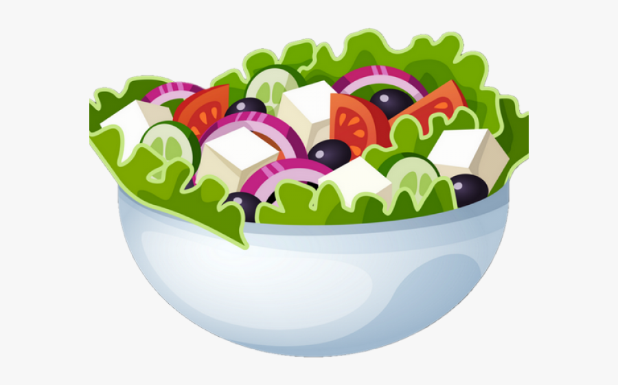 Transparent Fruit Salad Clipart - Salad Clipart Png, Transparent Clipart