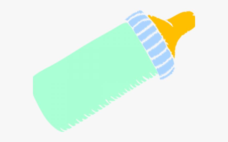 Baby Bottle Clipart - Pink Milk Bottle Clipart, Transparent Clipart
