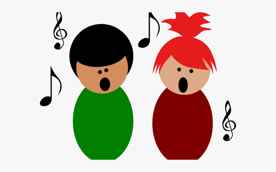 Singing Clipart Rehearsal - Kids Singing Clipart Free, Transparent Clipart