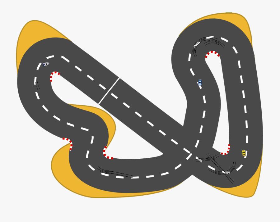 Car Race Track Auto Racing Clip Art - Race Car Track Clip Art, Transparent Clipart