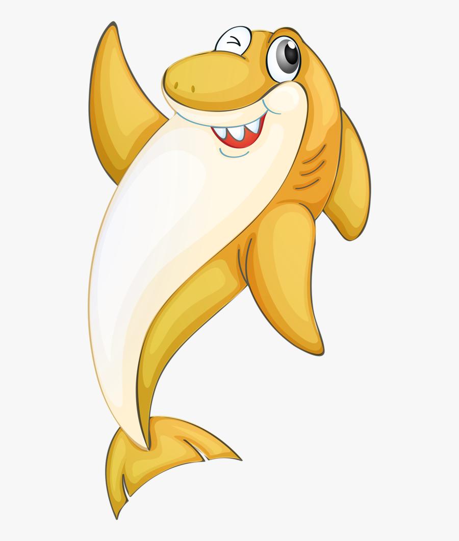 33 - Cartoon Animated Sea Creatures, Transparent Clipart