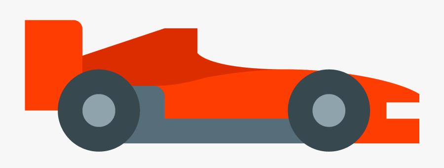 Clip Art Race Car Side View - Formula One Car Icon , Free ...