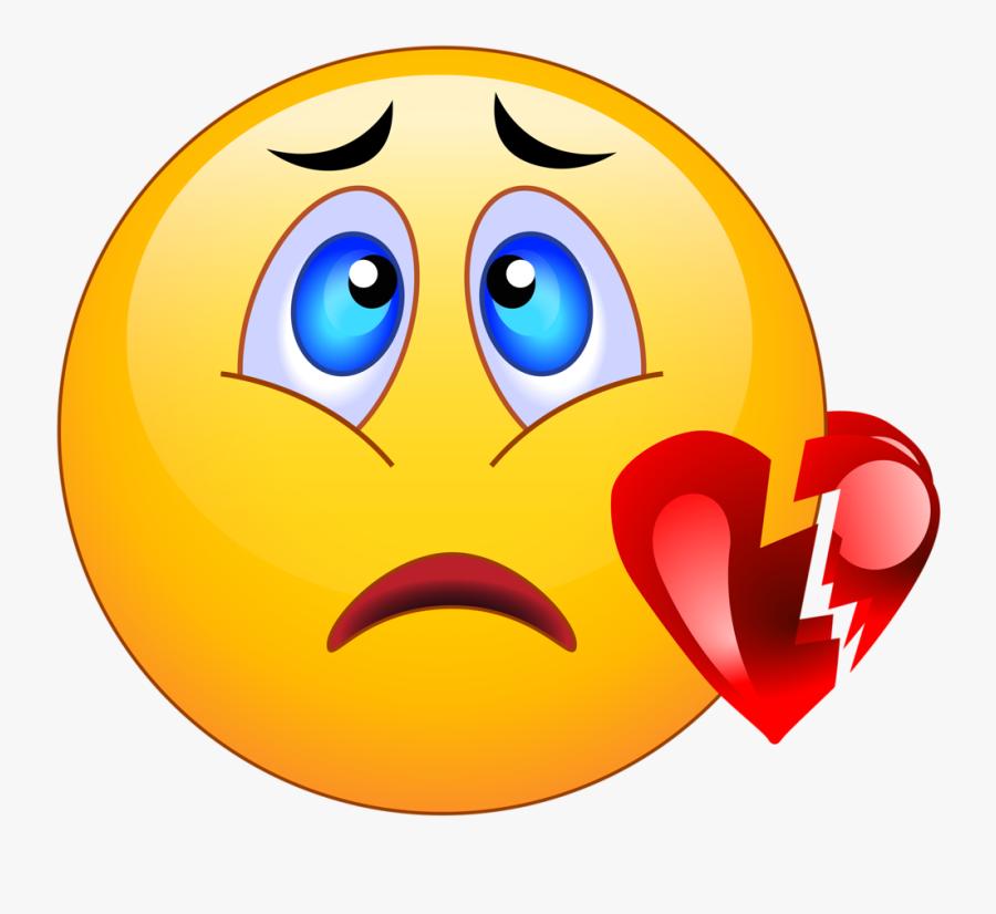 Png Pinterest Smileys Smiley And Emojis - Broken Heart Sad Face Emoji, Transparent Clipart