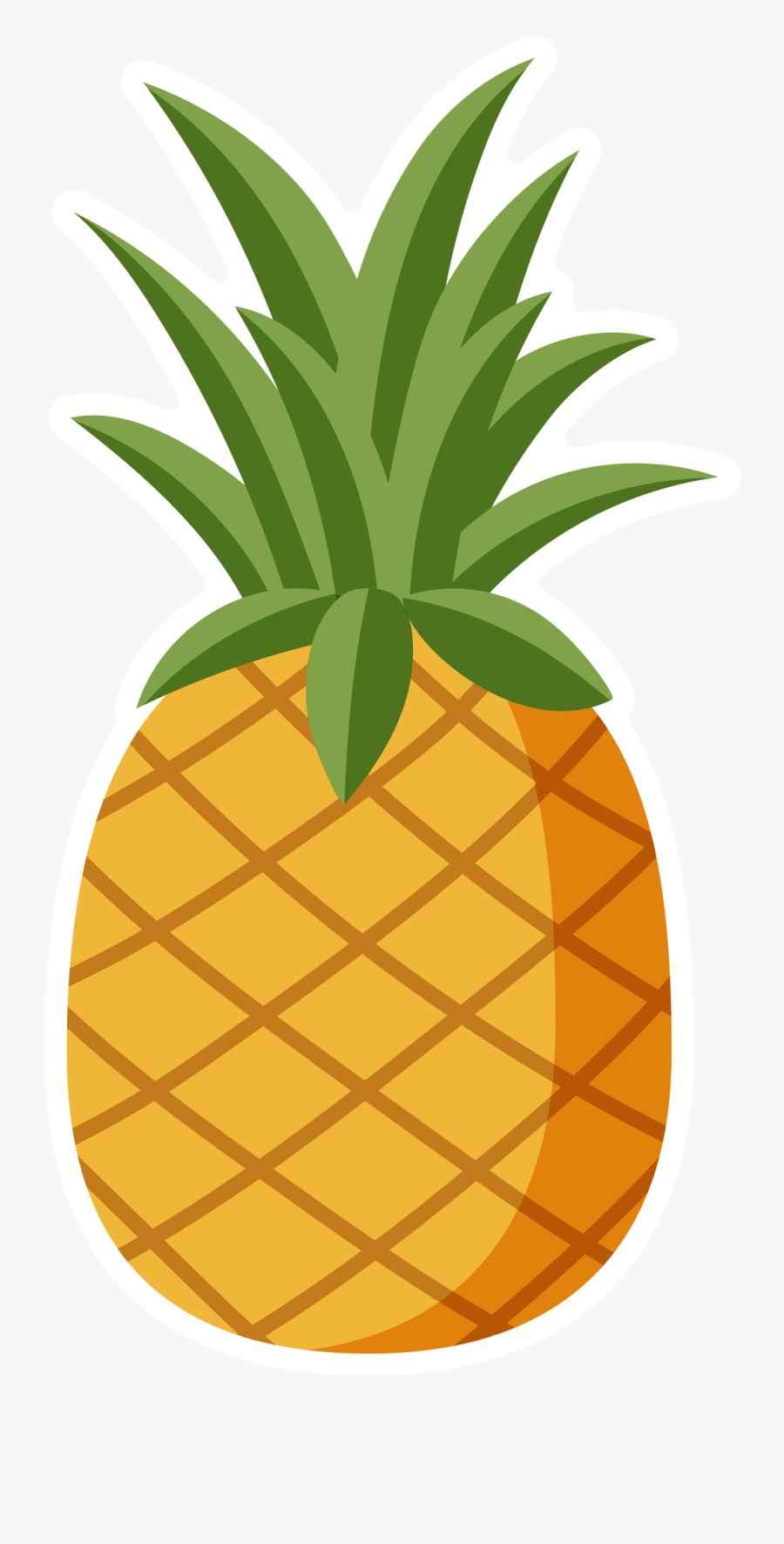 Pineapple Hawaiian Pizza Clip Art - Pineapple Pizza Lover Meme, Transparent Clipart