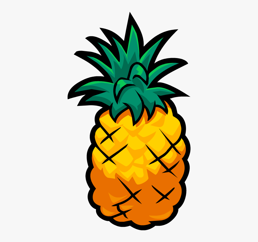 Cartoon Pineapple Png - Cartoon Pineapple Transparent Background, Transparent Clipart