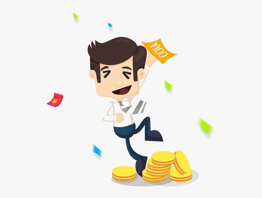 Money And Personnel Clipart Business Free - Business Cartoon Png Money, Transparent Clipart