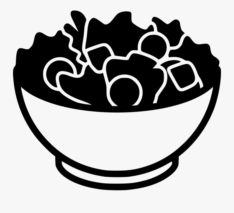 Caesar Salad Clip Art , Png Download - Salad Icon, Transparent Clipart