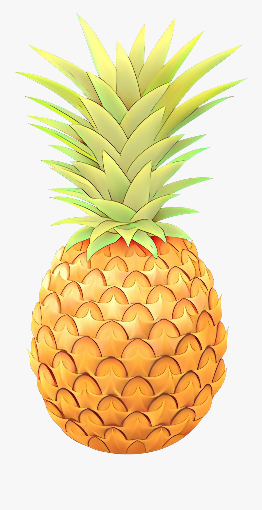 Portable Network Graphics Clip Art Pineapple Vector - Pineapple Png Clip Art, Transparent Clipart
