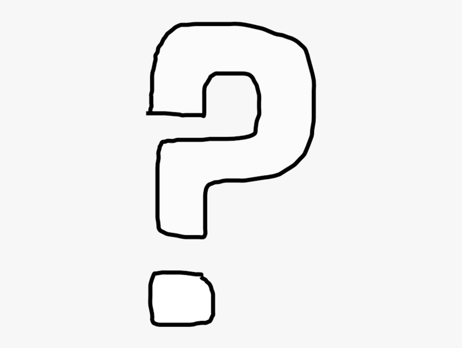 Question Mark Clip Art Black And White Marks Transparent - White Question Mark Clipart, Transparent Clipart