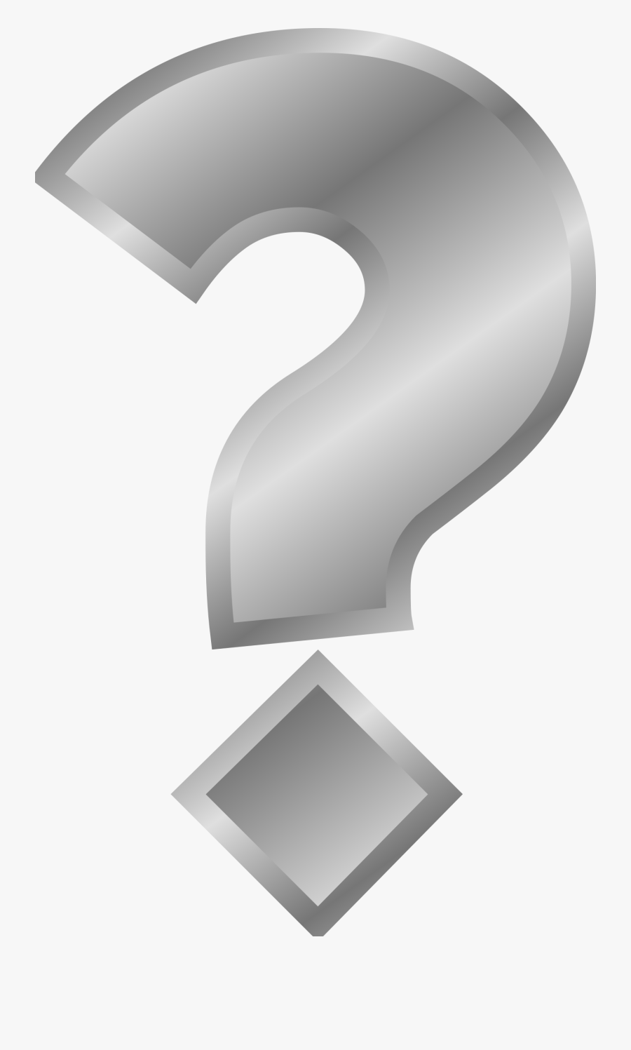 Question Mark Clip Art - Turning Question Mark Gif, Transparent Clipart