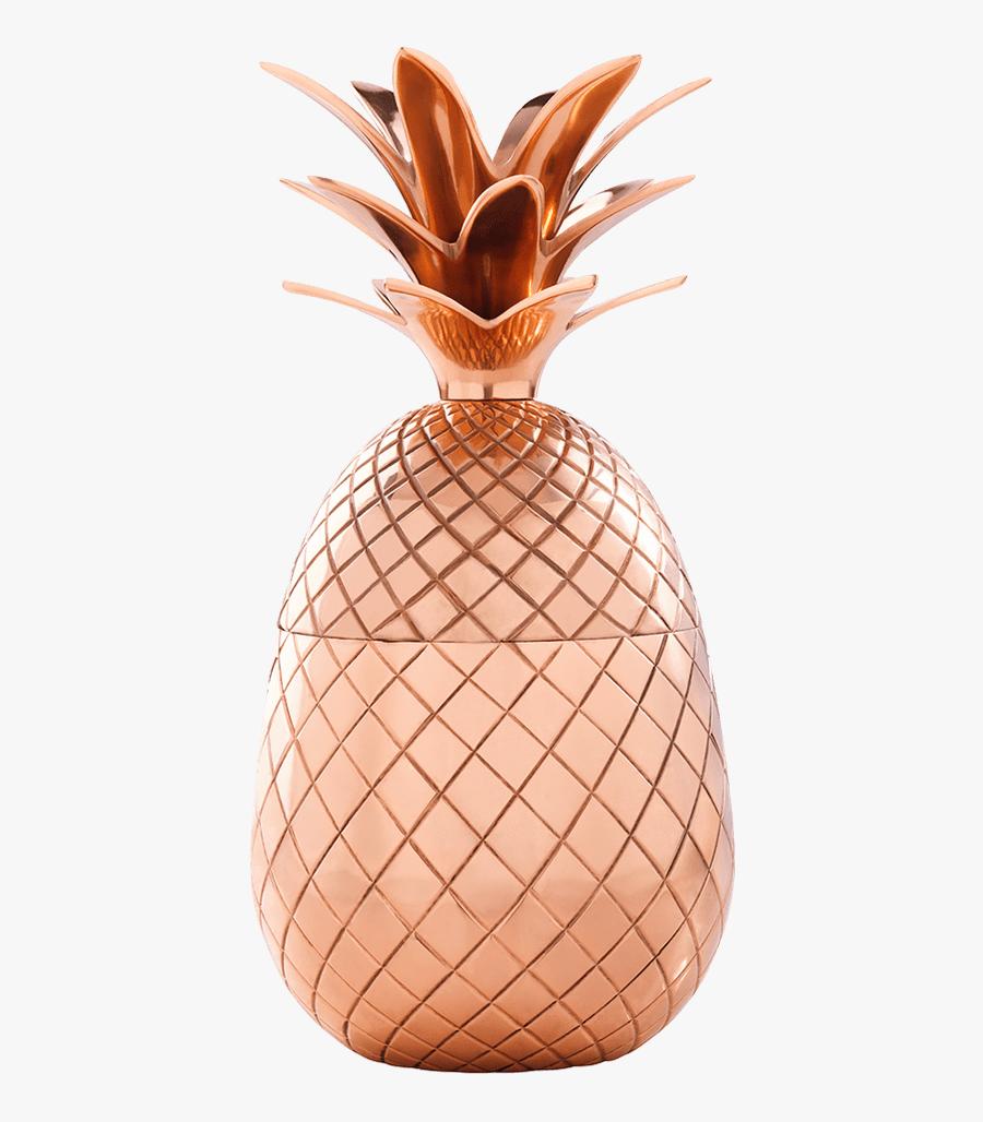 Classy Clipart Pineapple - Absolut Elyx Copper Pineapple, Transparent Clipart
