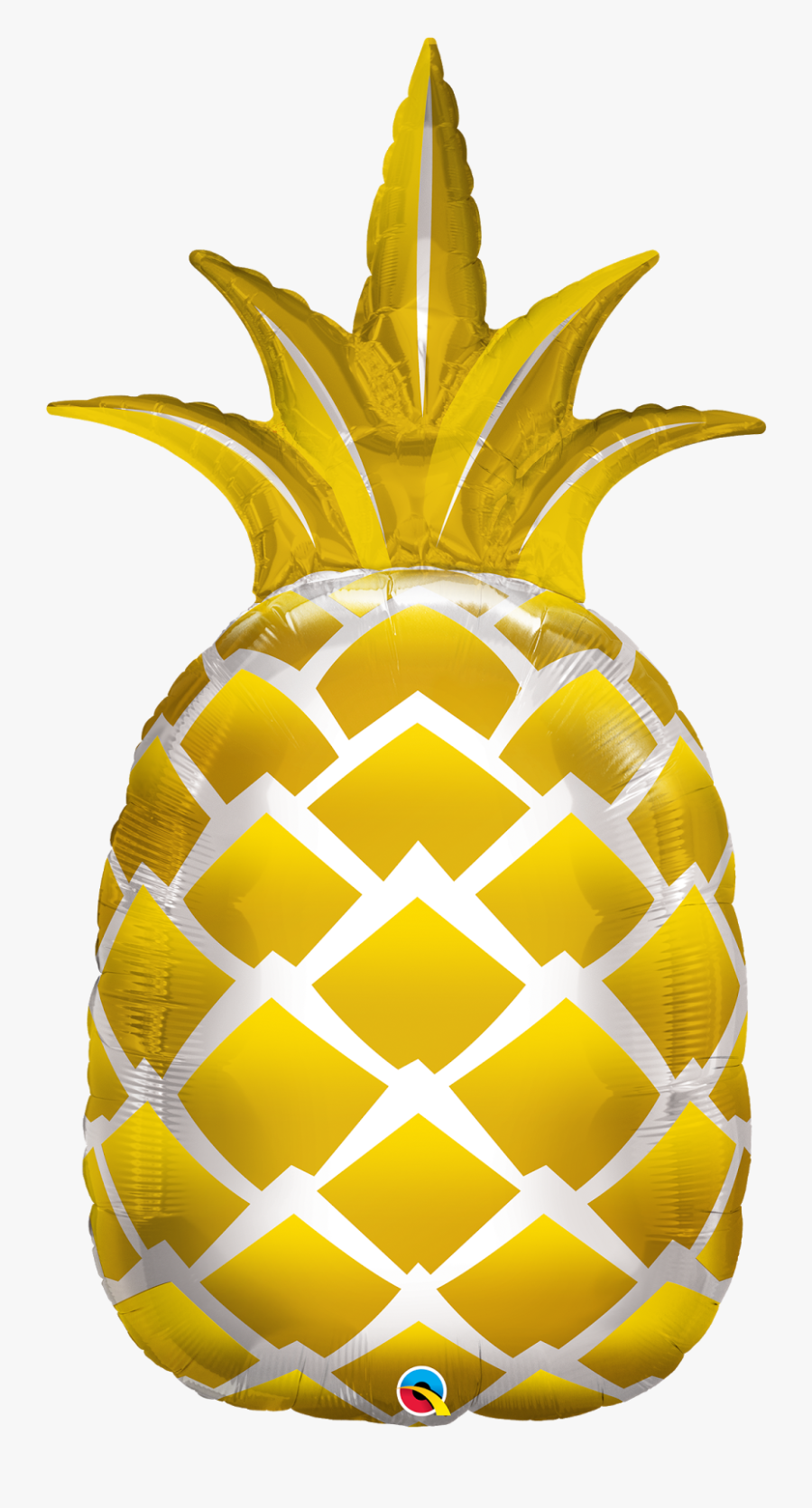 The Very Best Balloon Blog - Pineapple Foil Balloons, Transparent Clipart