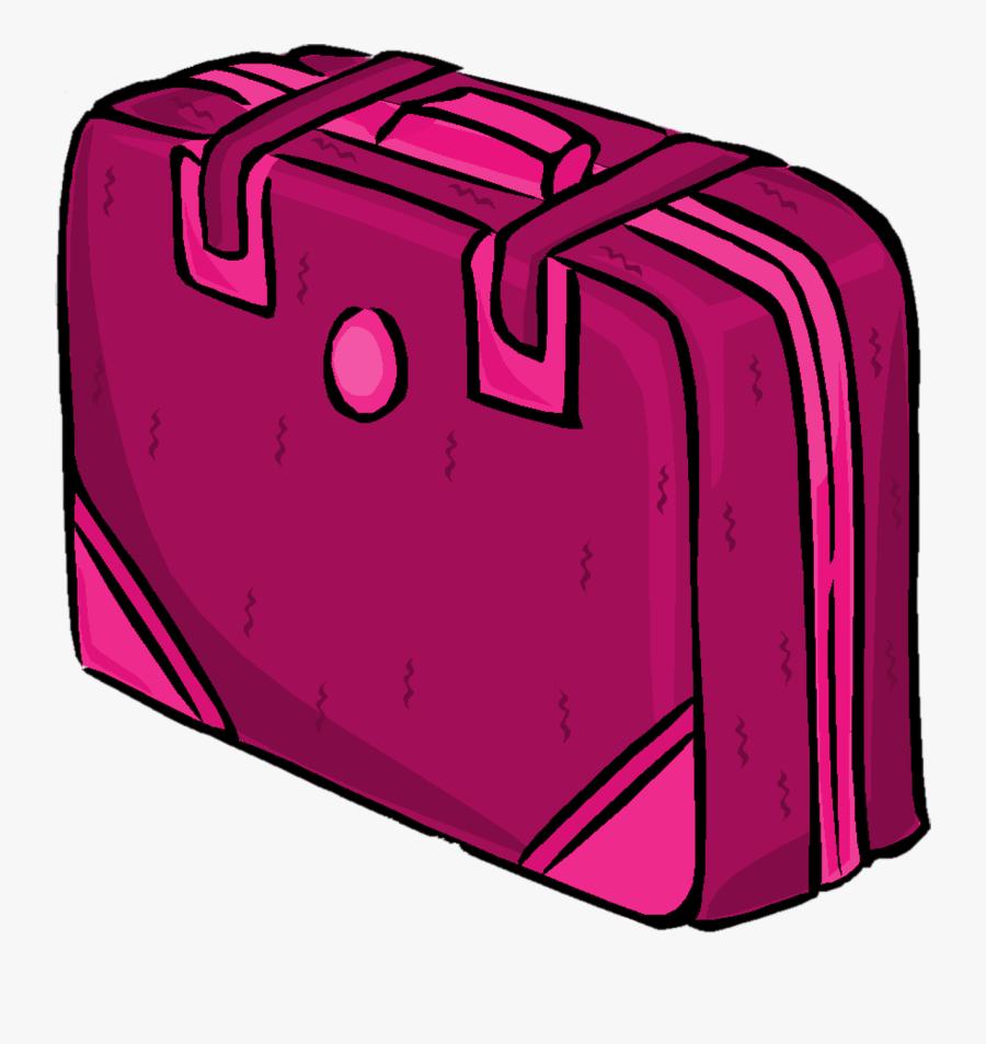 Suitcase Clipart Pink Suitcase Mala Rosa Png Free Transparent
