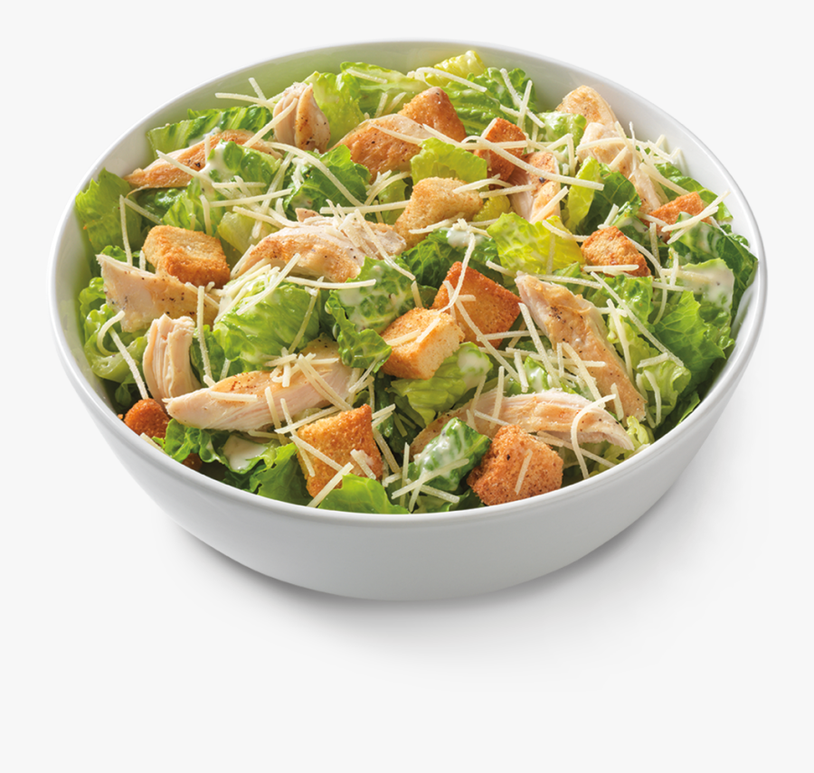 Dinner Clipart Chicken Salad - Grilled Chicken Caesar Salad Noodles And Company, Transparent Clipart