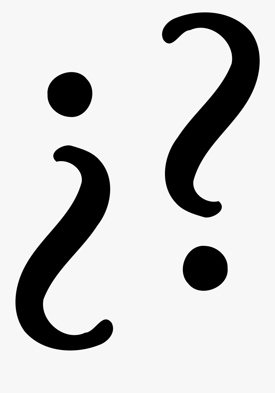 File Opening Closing Wikimedia - Spanish Question Marks Icon, Transparent Clipart