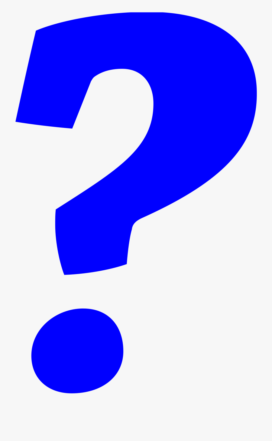Datei Italic Svg Wikipedia - Blue Question Mark Png, Transparent Clipart