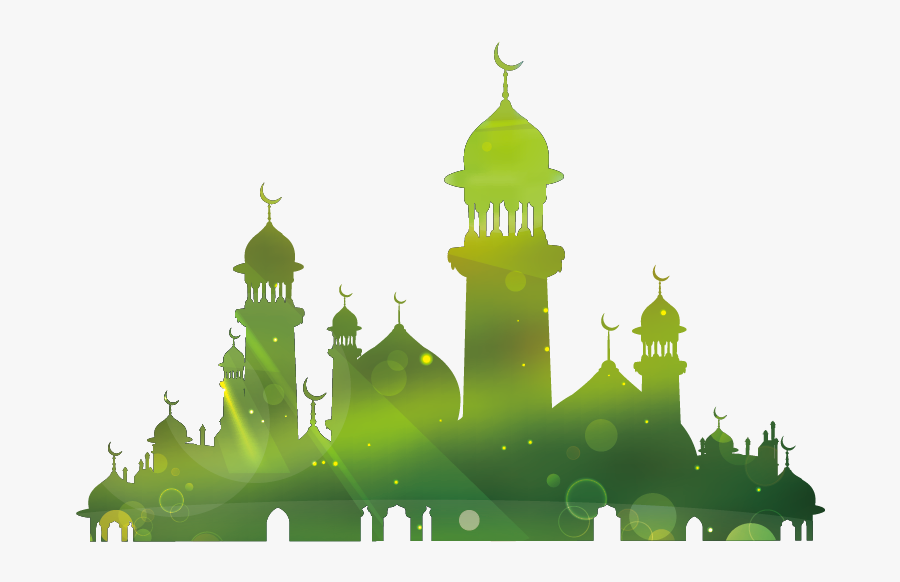 Mosque Vector Clipart Free - Eid Mubarak Hd Wallpaper 2017, Transparent Clipart