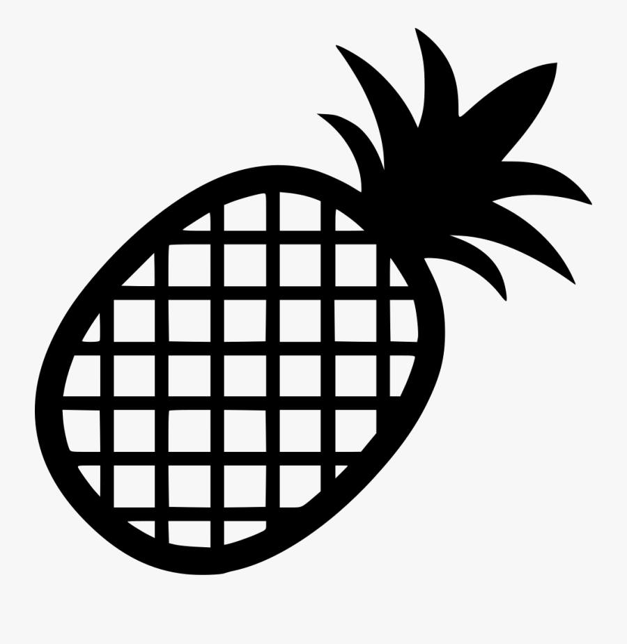 Clip Art Pineapple Svg Free - Free Pineapple Icon Png, Transparent Clipart