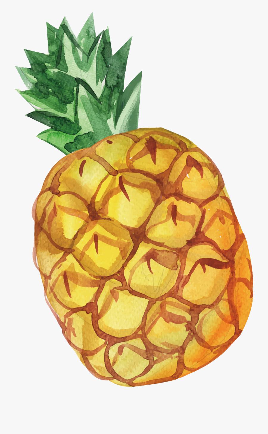 Juice Pineapple Computer File - Pineapple, Transparent Clipart