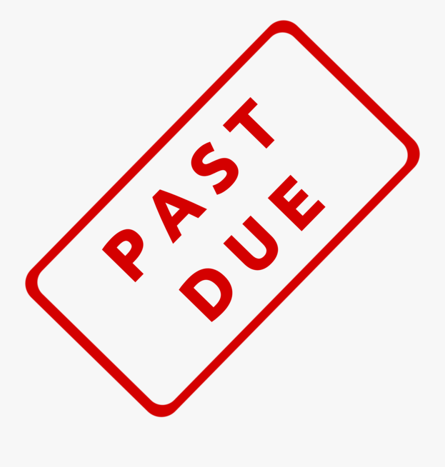 Past Due Business Stamp 1 - Past Due Stamp Png, Transparent Clipart