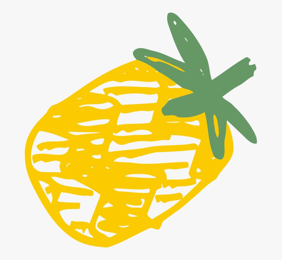 Plant,flower,leaf - Pineapple, Transparent Clipart