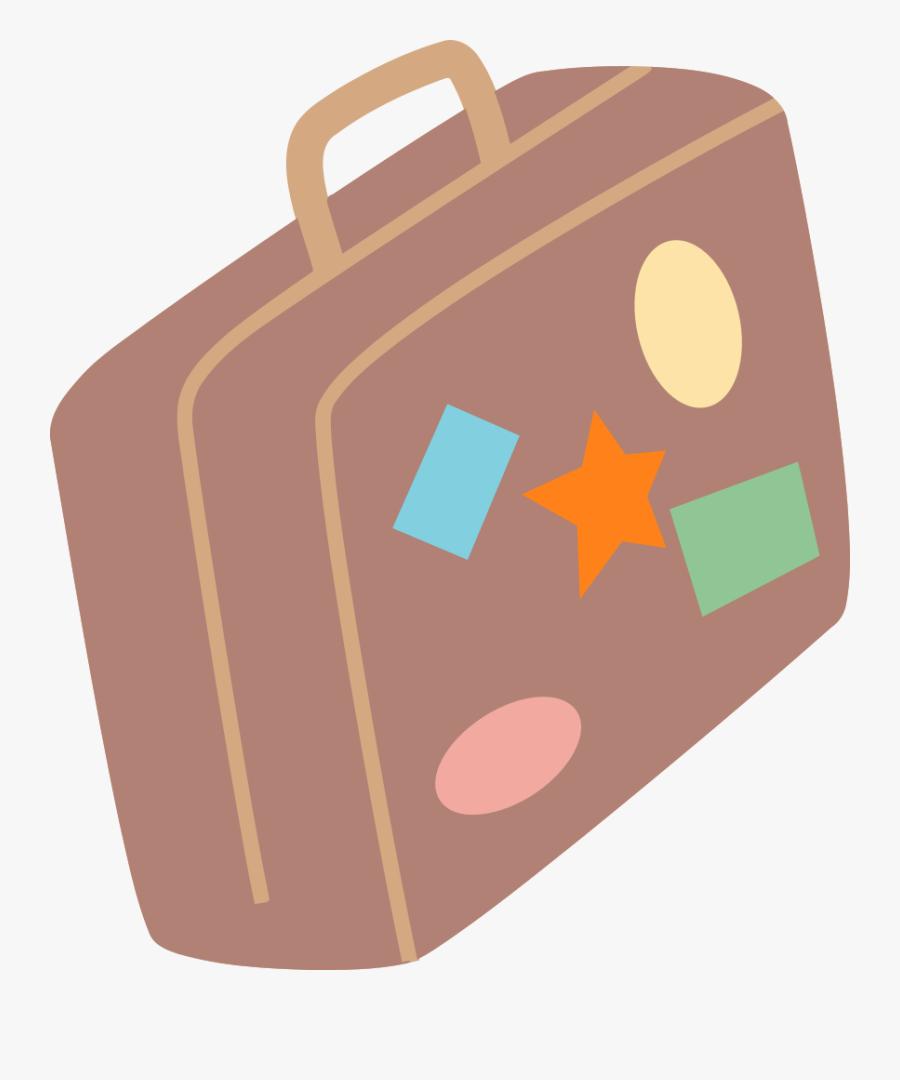 Brand Material Orange Mala De Viagem Desenho Png Free
