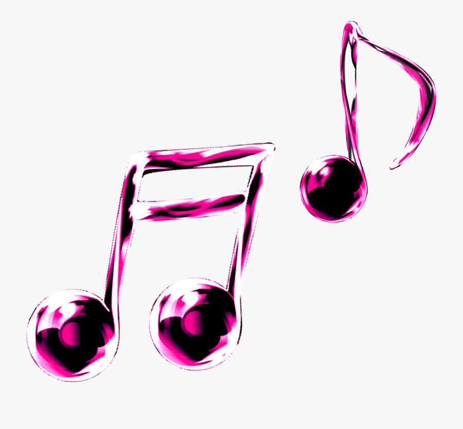 Music Notes Clipart Graphic - Colourful Music Icon Png, Transparent Clipart