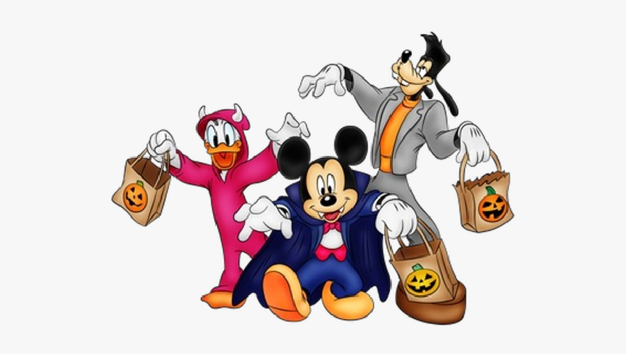 Mickey Mouse Halloween Png, Transparent Clipart