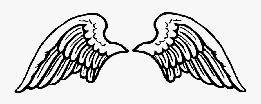 Wing Spread Angel Flying Peace Png Image - Angel Wings Clipart Png, Transparent Clipart