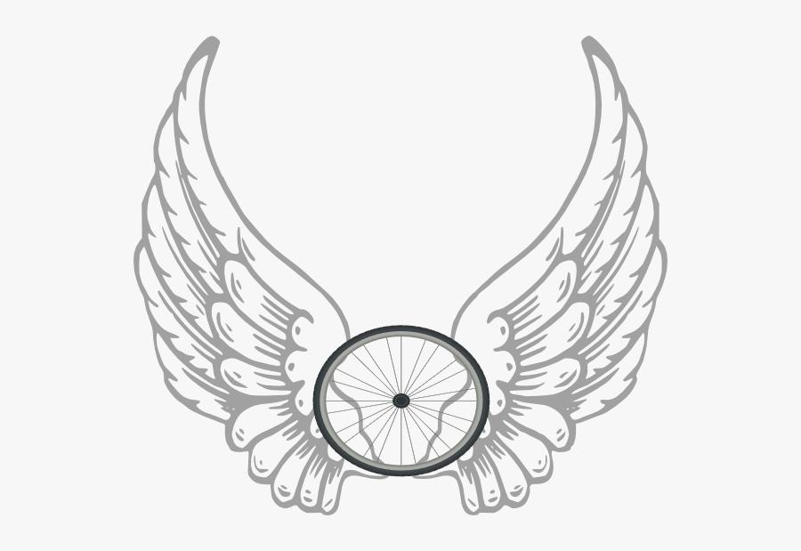Transparent Angel Wings Vector, Transparent Clipart