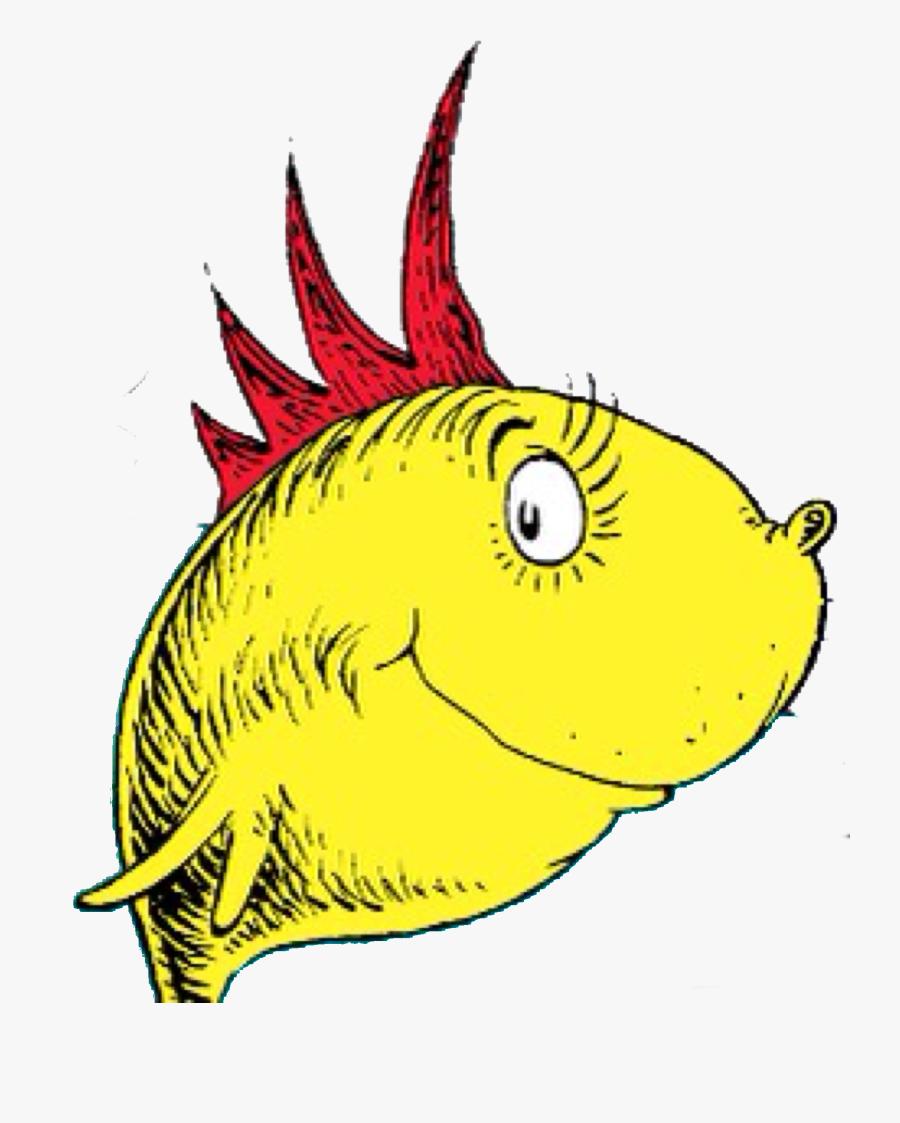 Dr Seuss Fish Png - Fish In Dr Seuss, Transparent Clipart