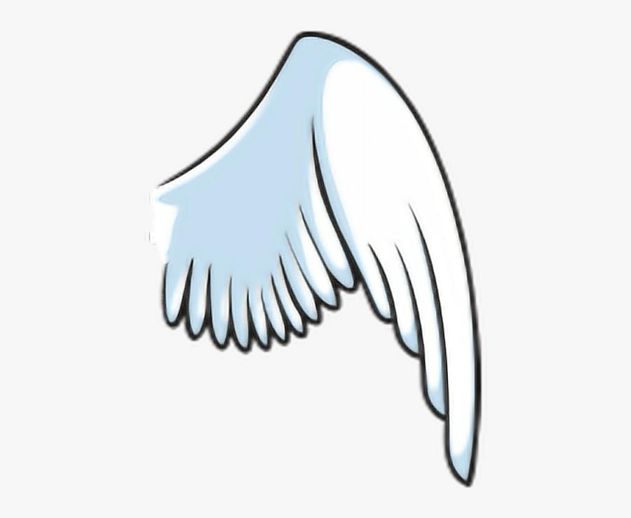 #wings #dragonwings #sticker #angelwings #freetoedit - Cartoon Angel Wings Png, Transparent Clipart