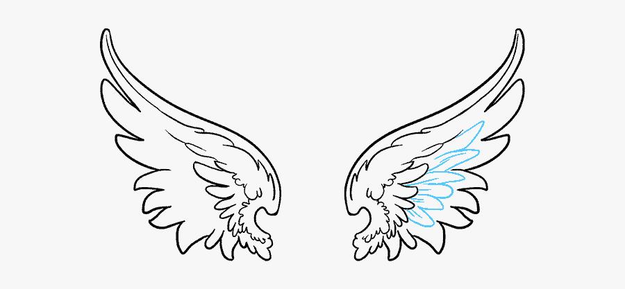 Clip Art Angel Wings Cartoon - Angel Wings Vector Png, Transparent Clipart