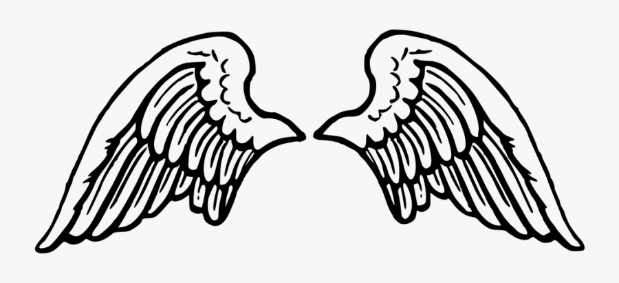 Transparent Angel Silhouette Png - Angel Wings Clipart Png, Transparent Clipart