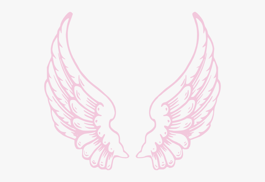 Angel Wings Png Pink, Transparent Clipart