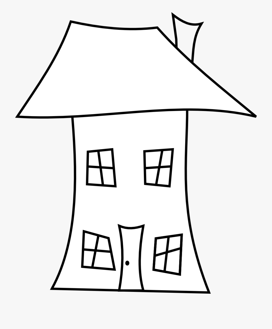 House Line Drawing - House Line Drawing Png, Transparent Clipart