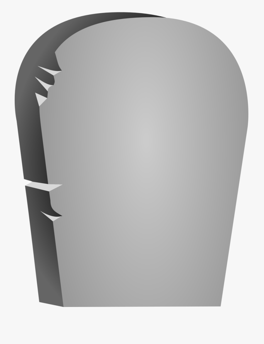Halloween Rounded Tombstone - Tombstone Png, Transparent Clipart