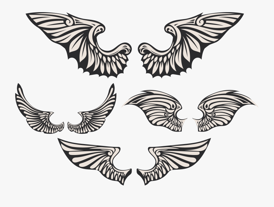 Transparent Angel Wings Vector Png - Portable Network Graphics, Transparent Clipart