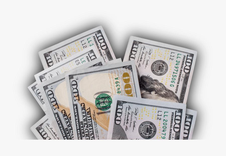 Transparent 100 Dollar Bill Png - 100 Dollar Bill Transparent, Transparent Clipart