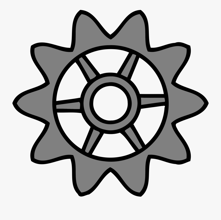 Wheel,line Art,symmetry - Clip Art Circle Object, Transparent Clipart