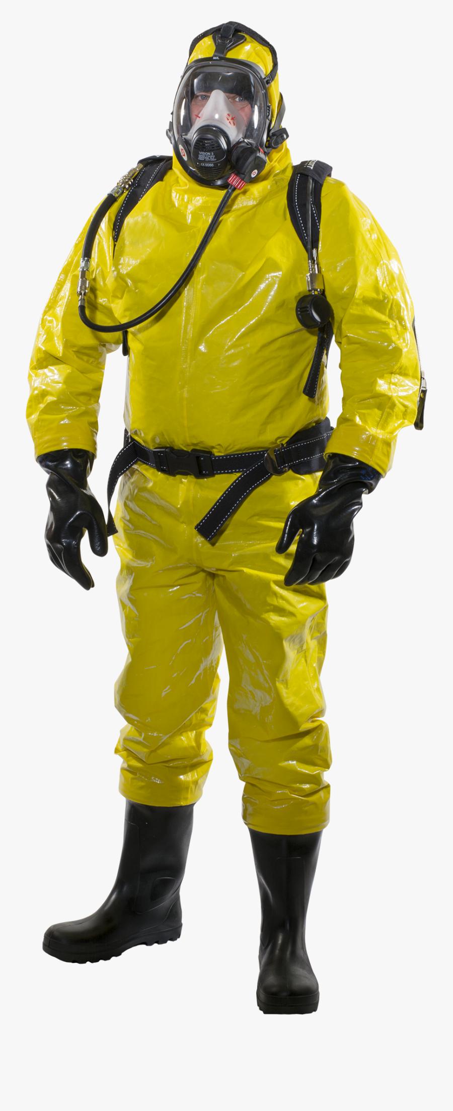 Clip Art Biohazard Suits - Biohazard Suit Png, Transparent Clipart